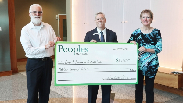 peoples state bank covid-19 response fund