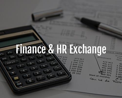 finance HR exchange community foundation